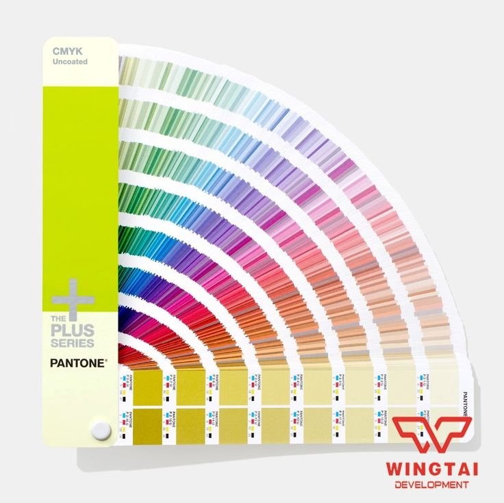 (144.50$)  Watch now  - 2 Books Newest Color Guide GP5101 Coated & Uncoated USA CMYK Pantone Color Guide