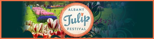 Albany Tulip Festival in May