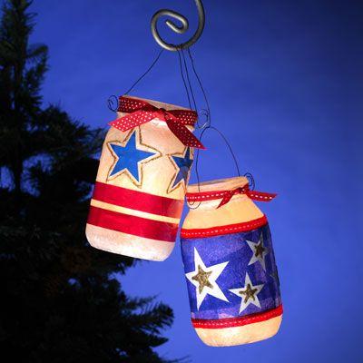 Jar Lanterns, Party Decor