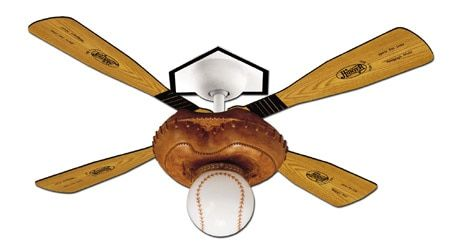 Hunter Baseball Ceiling Fan