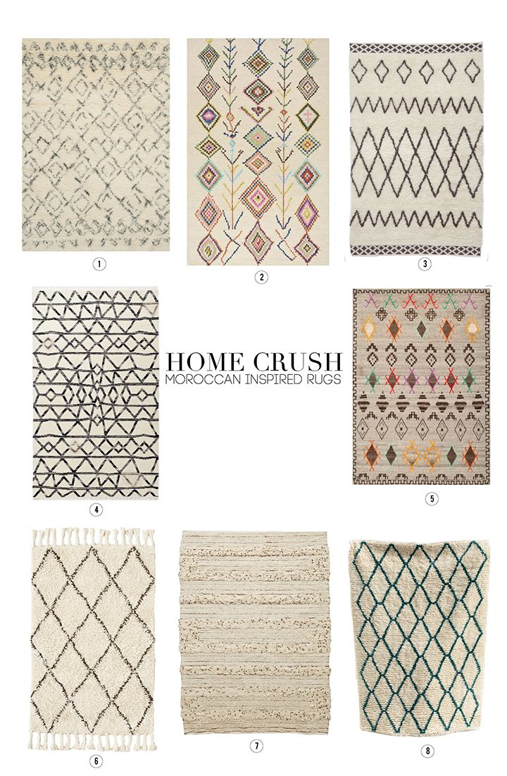 Home Crush Moroccan Inspired Rugs