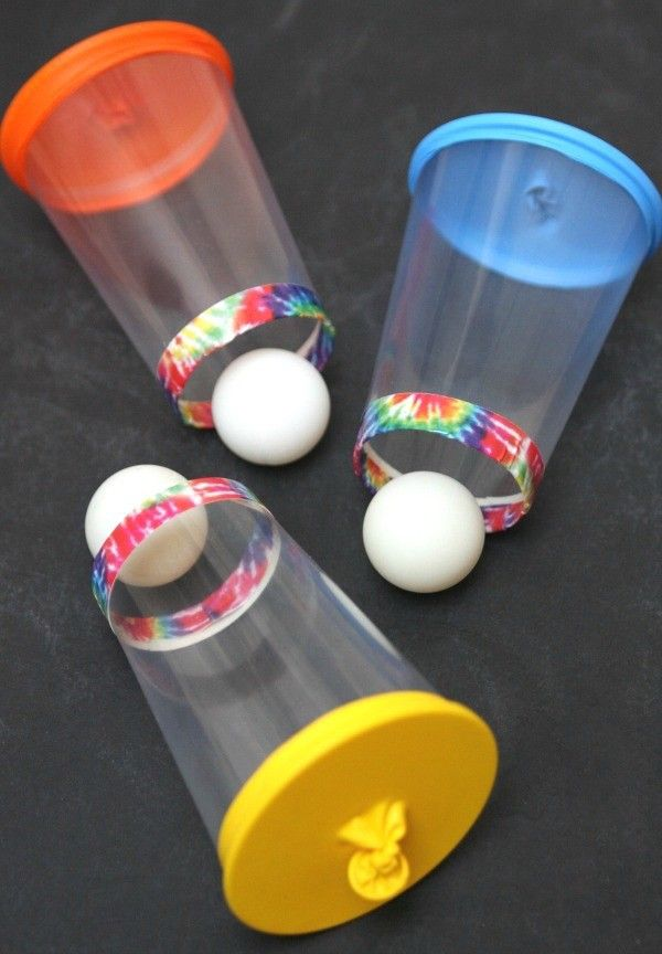 Juegos infantiles: cómo hacer un lanza bolas fácil
