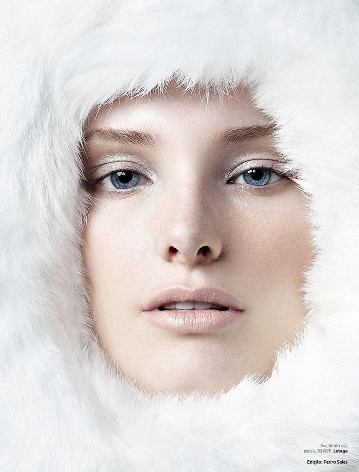 Silvo Giorgio Hair and Make-Up - Deu Branco (Vogue Brasil)