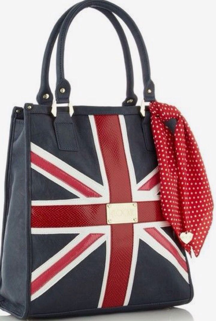 Navy Union Jack Per Bag By Floozie