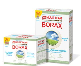 Borax is amazing!  It's CHEAP and can be used as a colorsafe bleach alternative in HE and regular washers...and also? Incapacitates Leviathans!