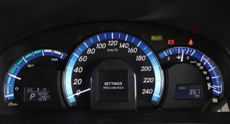 Toyota All New Camry - Speedometer - Only at AUTO2000