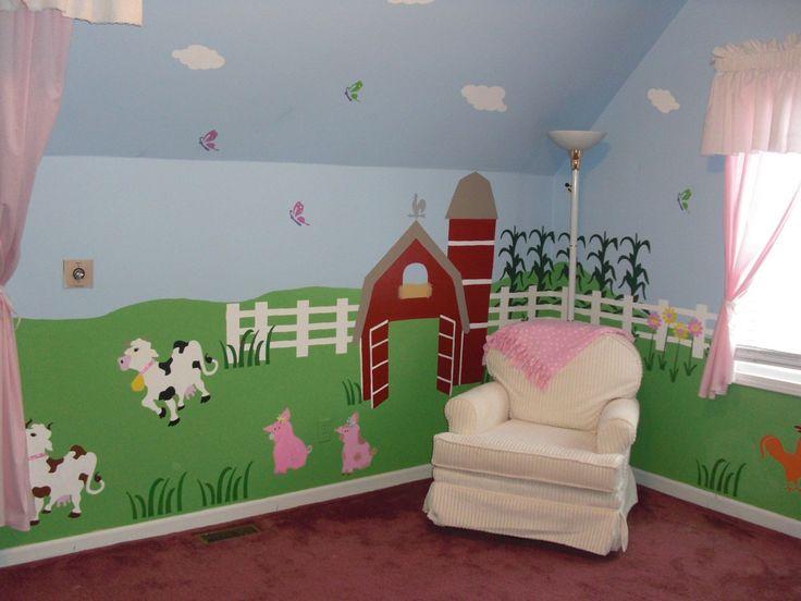 Best Church Nursery Images On Pinterest Mural Ideas - Church nursery wall decalsbest church nurserychildrens church decor images on