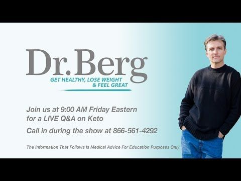 Dr. Eric Berg DC, age 52 describes the truth about getting healthy and losing healthy weight. His is the director of Dr. Berg's Nutritionals and author of th...