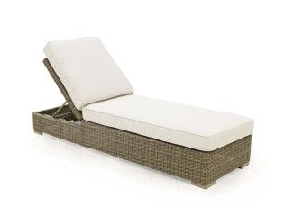 "Mod Chaise BY CASUALIFE D 80"" W 26"" H 16""  Driftwood"