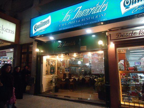 Los Inmortales - restaurant in Buenos Aires. Recommendation: empenadas