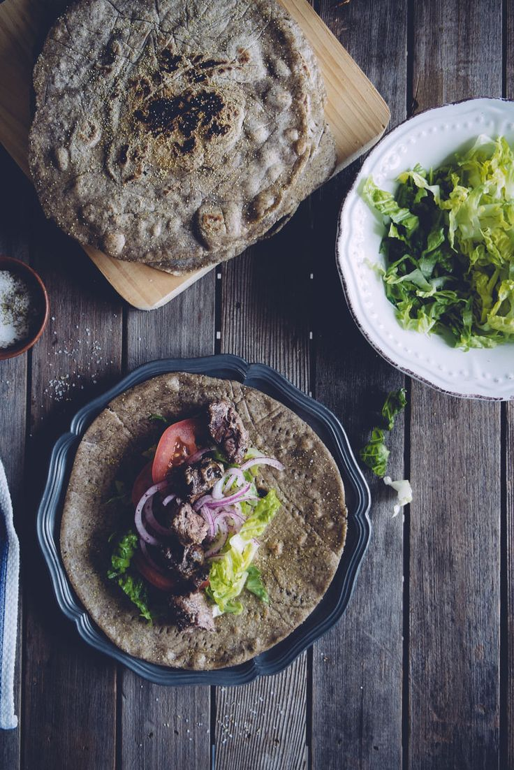 Buckwheat Pita Bread | (Souvlaki For The Soul)