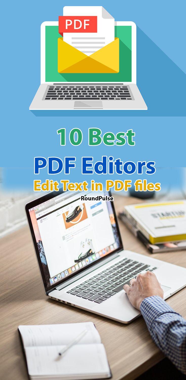 10 Best PDF Editors -  edit text in PDF files