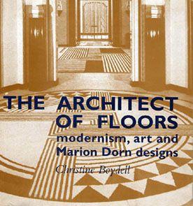 Marion Dorn architect of floors book