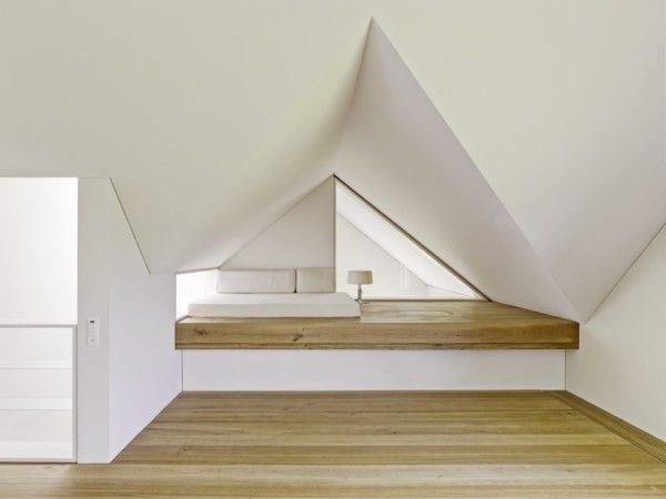 Wooden Bedroom Ideas from Modern Minimalist House with Amazing Surrounding in Winterthur Switzerland 600x450 Modern Minimalist House with Amazing Surrounding in Winterthur, Switzerland