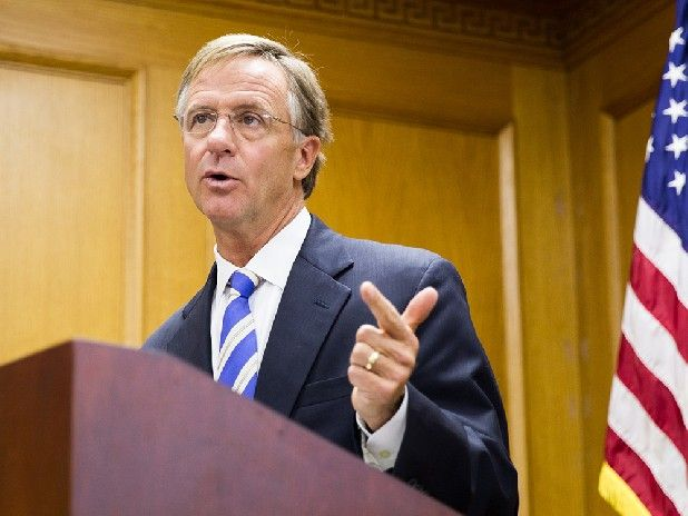 Gov. Bill Haslam against using card check for UAW at VW plant in Chattanooga - Gov. Bill Haslam said Tuesday he doesn't want Volkswagen to recognize the United Auto Workers based upon union authorization cards gathered last year after plant employees narrowly voted in February against UAW representation.