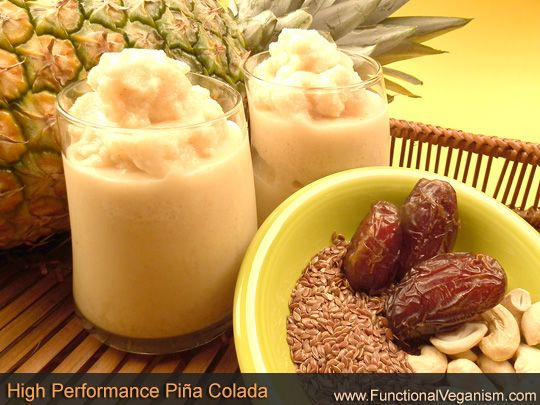 Vegan High Performance Piña Colada