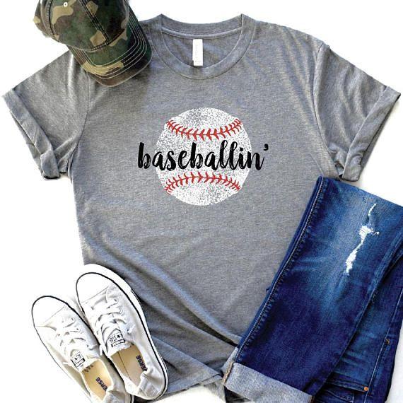 Baseball Mom Shirts, Baseball Shirt, Womens Baseball Shirts, Game Day Shirt, Custom Baseball Tee, Baseball Shirts for Women, Baseball Vibes