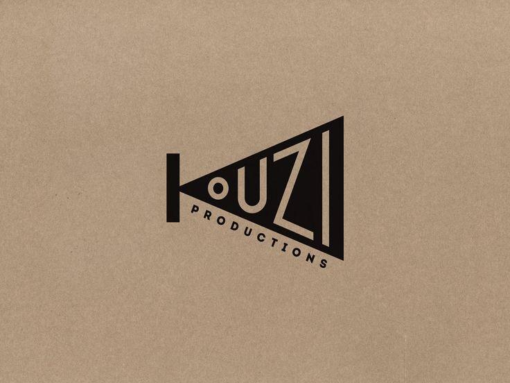 kouzi productions logotype | zazdesign graphic lab