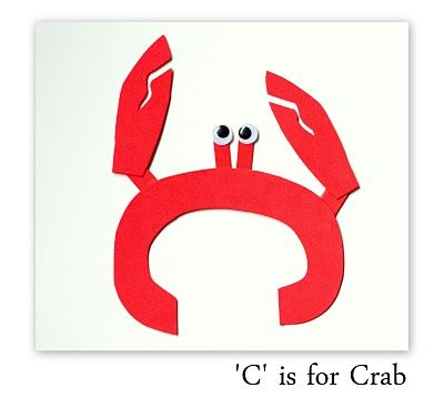 C is for… | Literacy Center Craftivity Preschool Lesson Plans