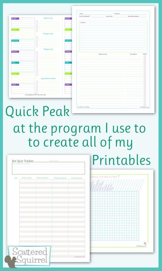 A Quick Peak At How I Make Printables Stuff Printables