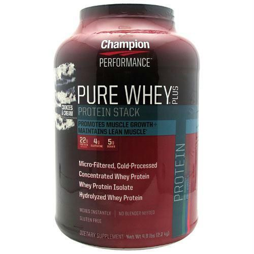 Champion Nutrition Pure Whey Plus Cookies & Cream - Gluten Free