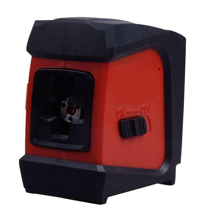 AK32 Rojo 2 líneas 1 punto Láser Nivel 360 autonivelante giratorio Láser Nivel Auto diagnóstico herramienta