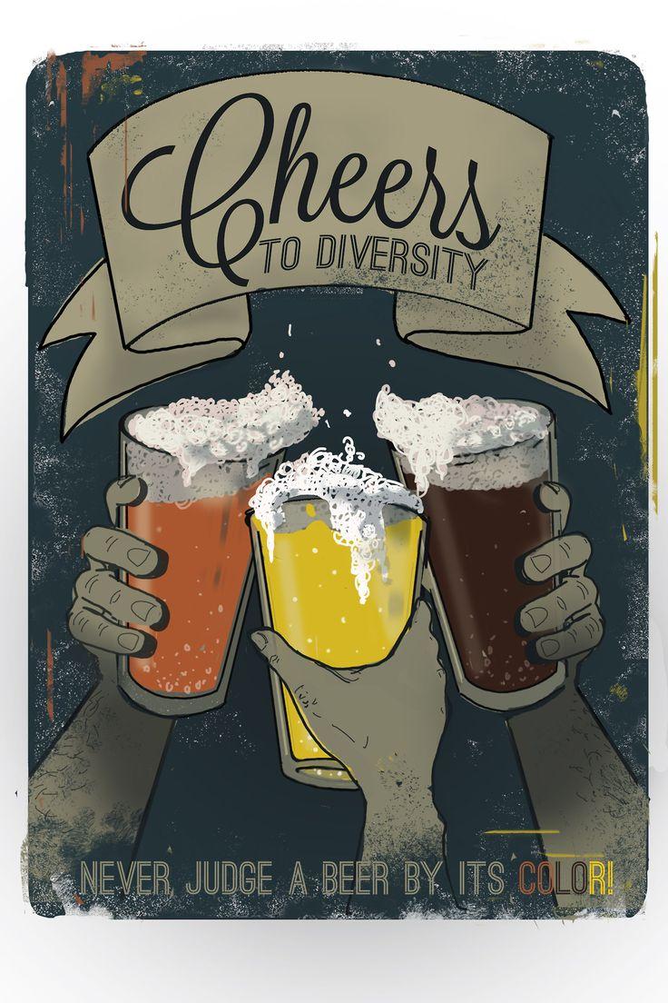 ¡Qué vivan las cervezas de todos los colores y sabores!