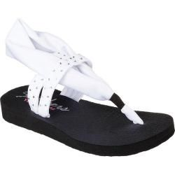 Shop for Women's Skechers Meditation Shooting Star Sandal White. Free Shipping on orders over $45 at Overstock.com - Your Online Shoes Outlet Store! Get 5% in rewards with Club O!