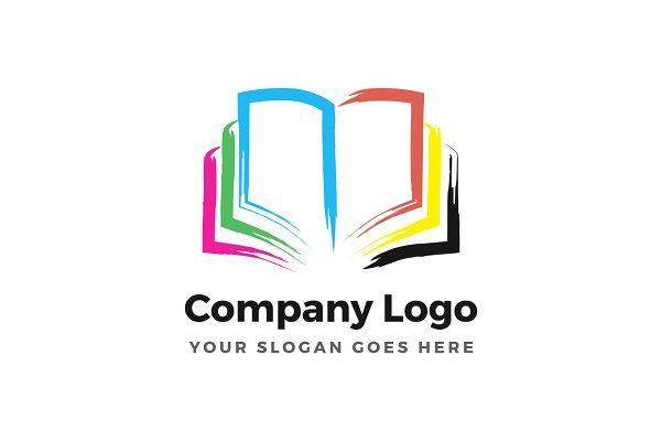 Color Book Logo Book Logo Coloring Books Logos