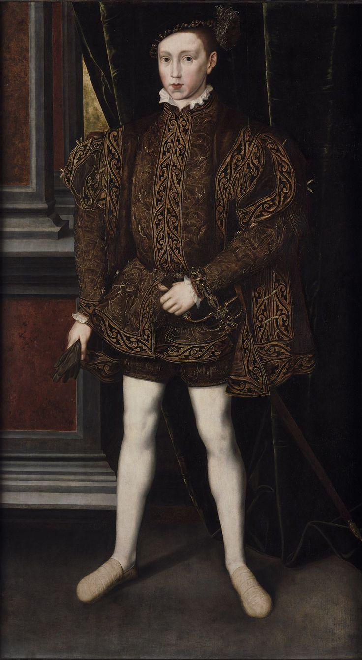 Portrait of King Edward VI (1537-1553), Workshop of Guillim Scrotts fl.1537-1553 | Philip Mould & Company
