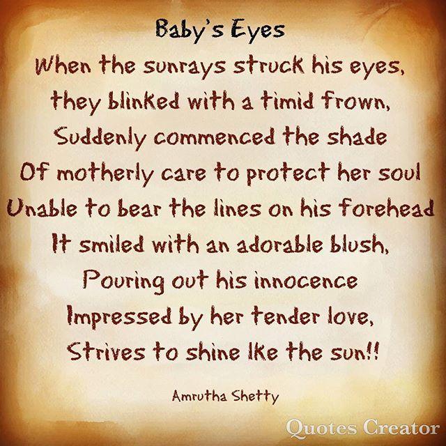 Reposting @far__flung: #baby_eyes❤️😍 @poemlit @poe #poem #poetrycommunity #poetry @poetry_en_motion #omypoetry