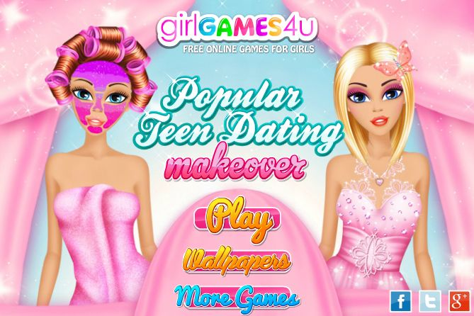 #Welove: being #popular! http://www.girlgames4u.com/popular-teen-dating-makeover-game.html ***  #Game's link: http://www.girlgames4u.com/popular-teen-dating-makeover-game.html ✿ ✿ ✿