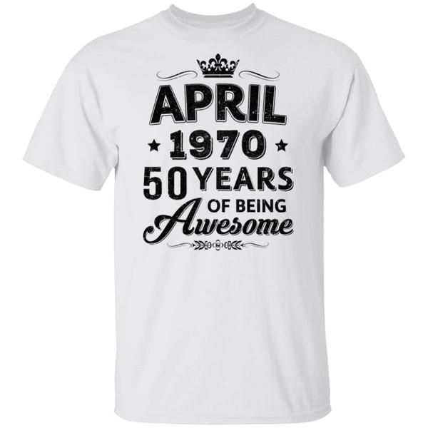 55 Years of being AWESOME  T-shirt  Funny Custom Birthday Present