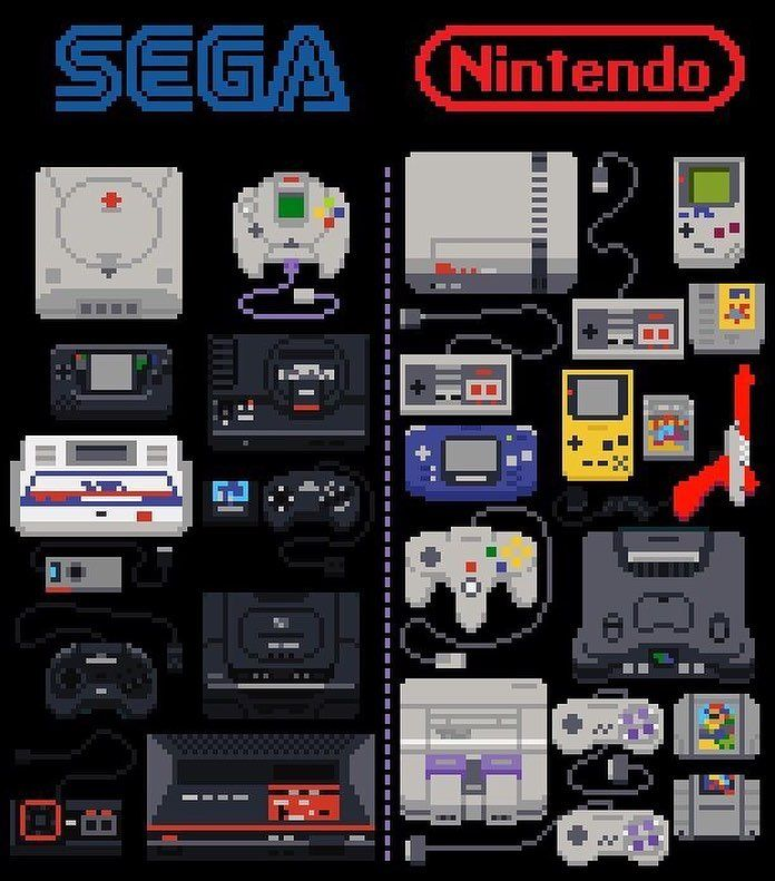 """1,080 Likes, 22 Comments - Business Inquiries? DM ↗ (@ringtoss.amiibo) on Instagram: """"What's your favourite Sega game? ↯↯↯↯↯↯↯↯↯↯↯↯↯↯↯ #3ds #nintendo #pokemon #gameboy #gamecube #n64…"""""""