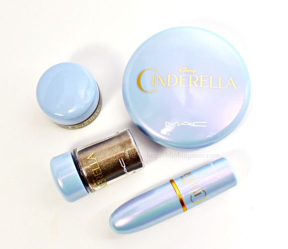 MAC Cinderella Collection Swatches, Review + FOTD