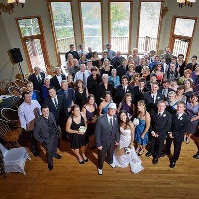 We make it easy to get the whole family together for your big day!   Photo: Alexander MacAulay Photography   #traveldeeper #ExploreCanada #VisitNovaScotia #canada #igers #instadaily #igtravel #travel #instatravel #easternshore #river #liscombelodge #weddingwednesday