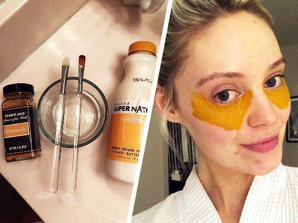 This Viral DIY Turmeric Mask Recipe Cured My Dark Under ...