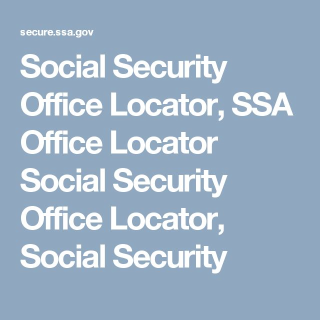 Social Security Office Locator, SSA Office Locator Social Security Office Locator, Social Security