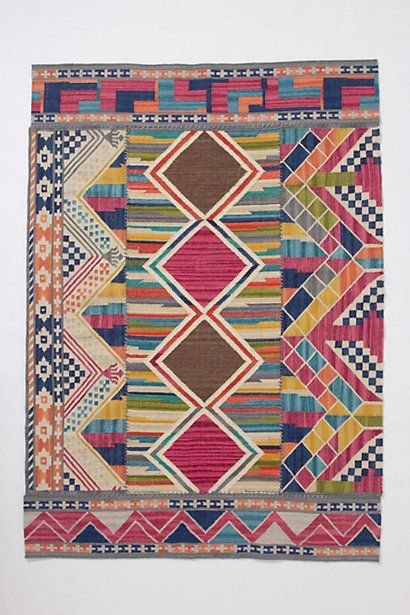 PINNERS! I desperately need to find a rug that I like... Does anyone have any suggestions as to where I can find a somewhat original looking rug at a good price? This one from Anthropologie is $698 and my inspiration.