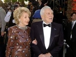 Kirk Douglas and Anne Buydens - married 50+ years