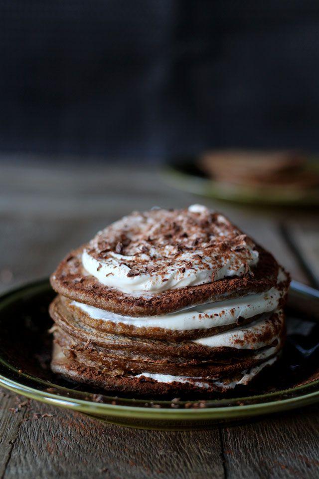 The best tiramisu pancakes