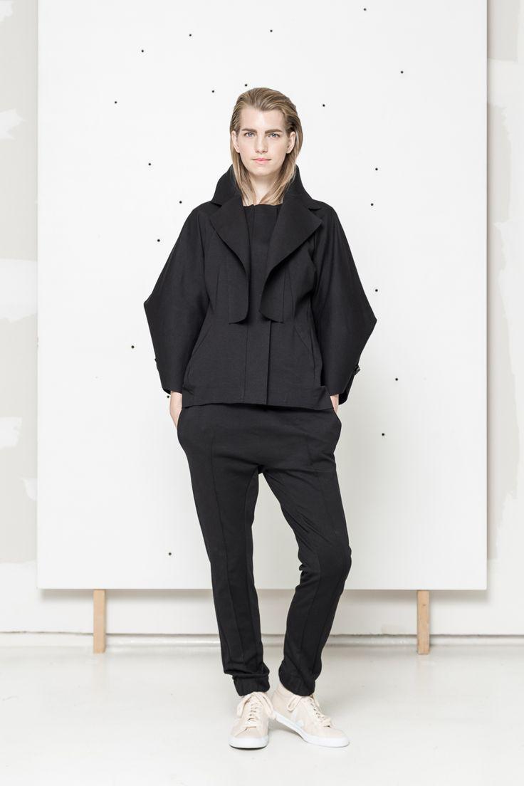 Black jacket www.hanazarubova.cz