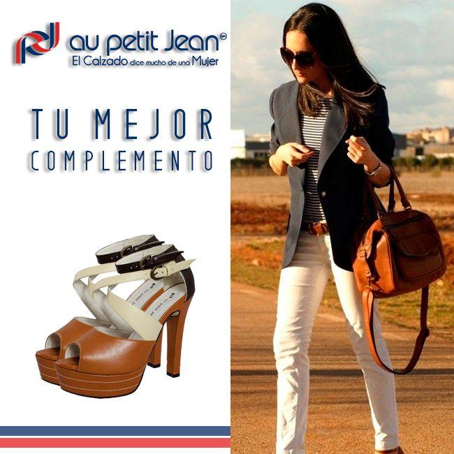 Combina contrastes de colores con el complemento ideal para tu estilo #APetitJean → http://bit.ly/1EOEG88