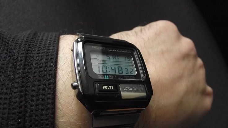 SEIKO Pulse vintage lata 80 japan zegarek lcd