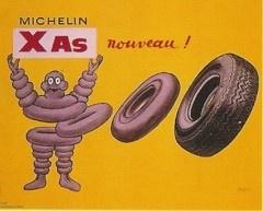 Michelin, 1966    Raymond Savignac