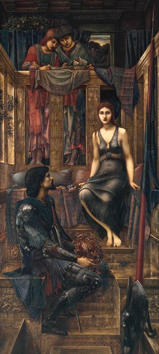 King Cophetua and the Beggar Maid by Sir Edward Coley Burne-Jones, Bt
