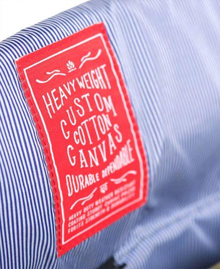 Herschel Supply / ハーシェル・サプライ - Survey (サーヴェイ) Cotton Canvas バッグ (Washed Army) - SIAMESE (サイアミーズ) オンラインセレクトショップ