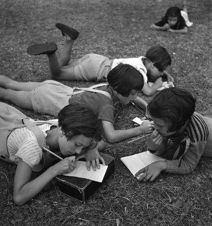 Une colonie de vacances- Ete 1938 Robert Doisneau