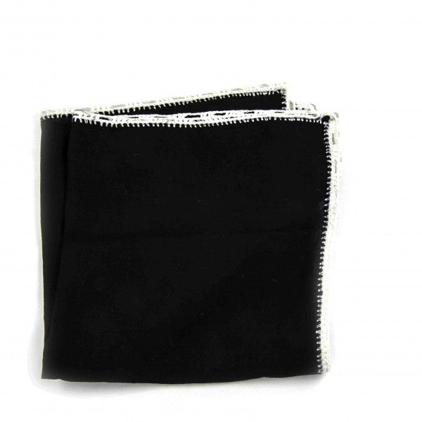 poszetka-czarna-stylenaut #blackpocketsquare