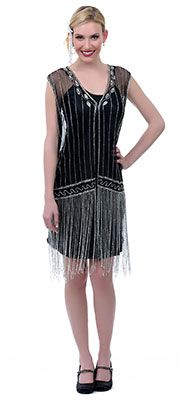 Vintage Style 1920s Flapper Dresses For Sale #ChicagoStyle